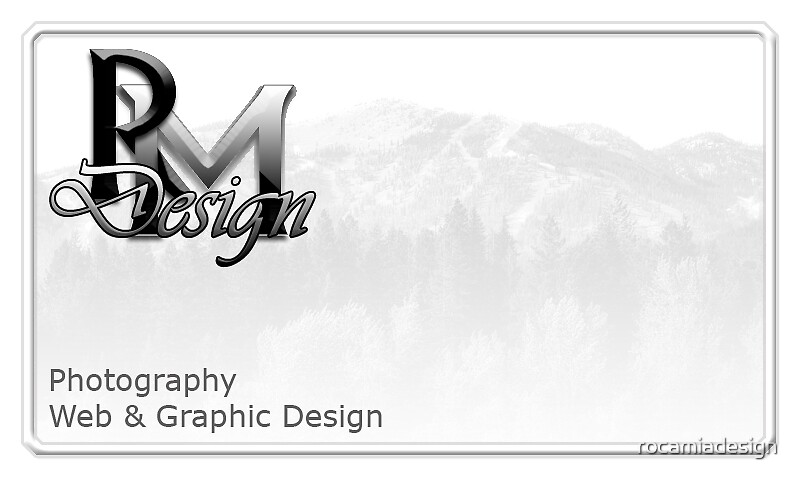 Roca Mia Design Business Card by rocamiadesign