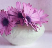 Purple With Green by Margi