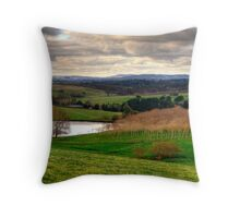 Winter in Balhannah, Adelaide Hills Throw Pillow