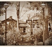The Old Wyong Primary School by Donna Keevers Driver