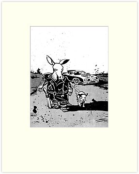 the road aardvark by Richard Morden