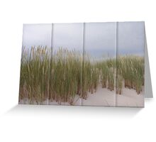 Swaying in the sand  Greeting Card