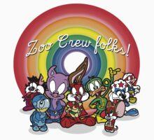 Tiny Zoo Crew Adventures Kids Tee