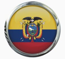 Ecuador Flag by 3Dflags