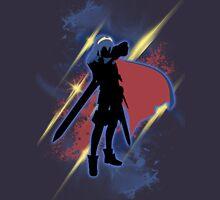Super Smash Bros. Lucina Silhouette Unisex T-Shirt