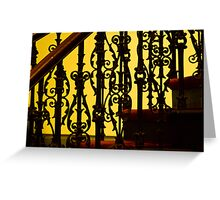 0099  Stair Detail Greeting Card