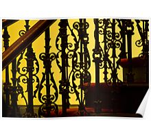 0099  Stair Detail Poster