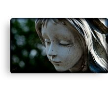whisper softly to the dead Canvas Print