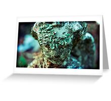 leper bathed in light Greeting Card