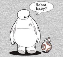 Robot Baby One Piece - Long Sleeve