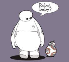 Robot Baby Kids Tee