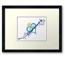 KeyBlade Framed Print