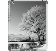 Ice and Snow......in Black and White...??!! iPad Case/Skin