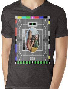 Testcard Mens V-Neck T-Shirt