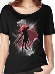 Super Smash Bros. White/Red Lucina Women's Relaxed Fit T-Shirt