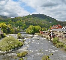 Sunshine and Showers on the River Dee by relayer51