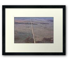 Nullarbor Tracks Outback Framed Print