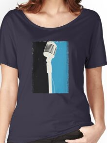 Retro Microphone Women's Relaxed Fit T-Shirt