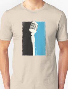 Retro Microphone Unisex T-Shirt
