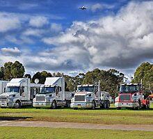 Without Trucks Australia Stops! by JaninesWorld