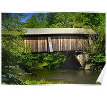 Motts Flats Covered Bridge Poster