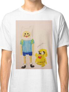 Jake and Finn by WRTISTIK Classic T-Shirt