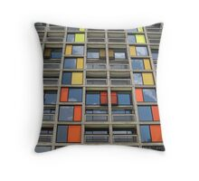 Park Hill - Urban Splashed Throw Pillow