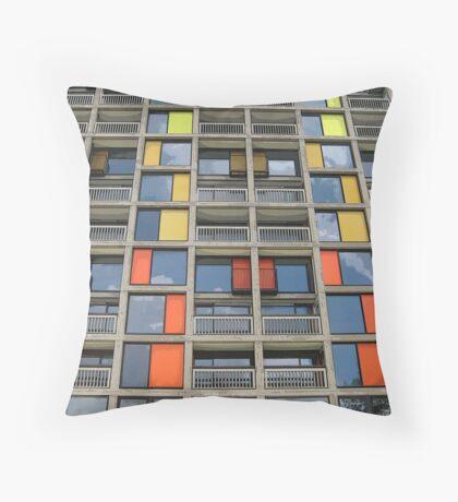 Park Hill - Urban Splashed Throw Pillow
