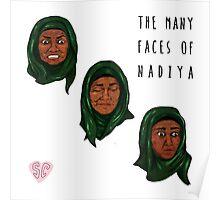 The Many Faces of Nadiya, GBBO Poster