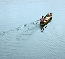 A man and his boat by juat