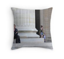 Gaucho at the Pantheon Throw Pillow