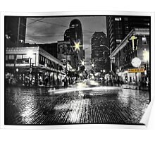 Historic District in Seattle Poster
