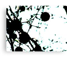 LONDON PARKS *UNNATURALLY* 5 Black Widow Canvas Print