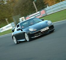 Porsche on Track Day by h3pat1c