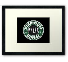 Starstuff Coffee Framed Print