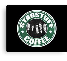 Starstuff Coffee Canvas Print