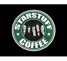 Starstuff Coffee Photographic Print