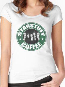 Starstuff Coffee Women's Fitted Scoop T-Shirt