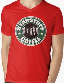 Starstuff Coffee Mens V-Neck T-Shirt