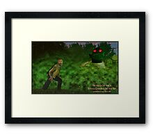 Horsell Common & The Heat Ray Framed Print