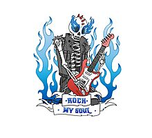 Rock my Soul Photographic Print