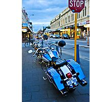 Freo bikes Photographic Print