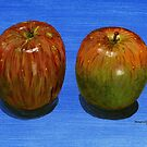 Two Juicy Fujis by bernzweig