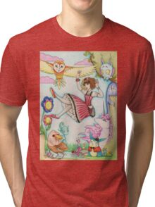 Falling into Fantasy Tri-blend T-Shirt