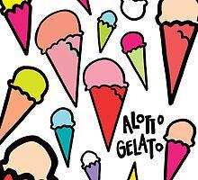 Alotto Gelato- White  by Karley Kiker