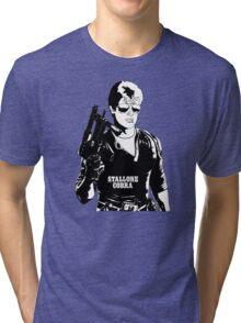 Sylvester Stallone as Cobra Tri-blend T-Shirt