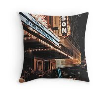 Journalistic Style Throw Pillow