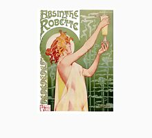 Absinthe Robette 1896 Vintage Poster Restored Unisex T-Shirt