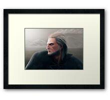 Geralt of Rivia Framed Print