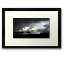Snowstorm coming, Bantry Bay Framed Print